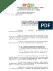 Parecer nº 3 - Recurso Rejeição Denúncia