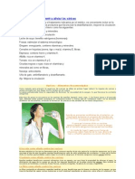 Alimentos para prevenir y aliviar las várices