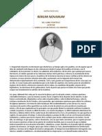 León XIII 1891 Carta Encíclica Rerum Novarum - SITUACIÓN DE LOS OBREROS