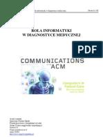 Informatyka w Diagnostyce Medycznej 4