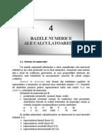 Bazele Numerice Ale Calculatoarelor