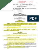 Bahia - Lei Complementar n11 18.01