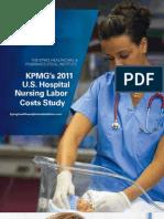 KPMG 2011 Nursing Labor Cost Study