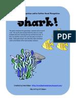 Shark! Letter Recognition Game