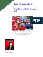 110622 Hacia Dónde Va El Acuerdo De Cartagena Chávez-Santos