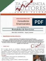 Port Folio Alta Gerencia 2011