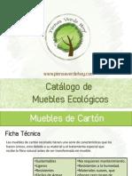 Catálogo Muebles