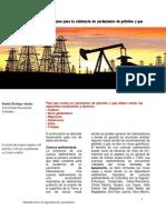 Condiciones para la existencia de yacimientos de petróleo y gas
