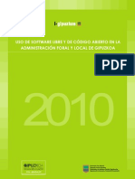 Informe Software Libre 2010 ES