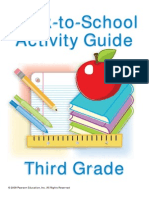 3rd Grade Back to School Guide