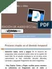 Edición de audio digital procesos