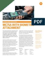 MC75A Biometric Spec Sheet