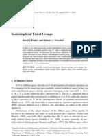 2004 Semisimplicial Unital Groups
