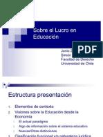 Simón Accorsi- Sobre el Lucro en Educación
