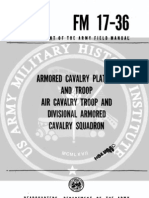 Armored Cavalry Platoon and Troop FM17!36!1961