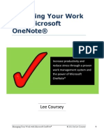 Managing Your Work With Microsoft OneNote GTD v2