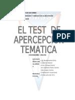 Test de Apercepcion Tematica
