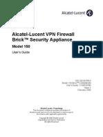 Alcatel Lucent VPN Firewall Brick Security App Model 150