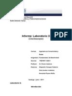 Laboratorio II Osciloscopio