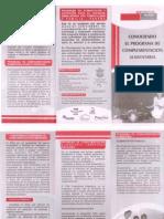 Triptico Complementación Alimentaria - Red Nacional Anticorrupción Amazonas