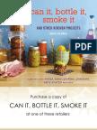 Recipes From Can It, Bottle It, Smoke It by Karen Solomon