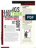 5 Things You Think You Know about Christmas . . . but Really Don't