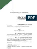 Lei Complementar - Novo Codigo rio Municipal