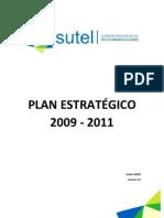 Plan Estrategico SUTEL 2009-2011
