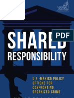 Shared Responsability US-Mexico Policy Options for Confronting Organized Crime
