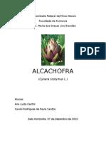Alcachofra Trabalho de Farmacognosia Final
