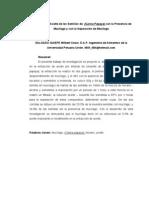 Extracción de Aceite de las Semillas de  Carica Papaya con la Presencia de Mucílago y con la Separación de Mucílago