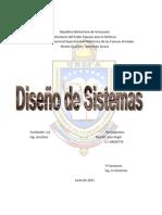 Fases Diseño de Sistemas