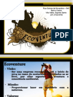 Ecoventure - Apresentação Plano de Negócios