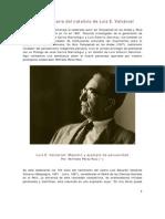 Luis E. Valcarcel - Maestro y Ejemplo de la Peruanidad