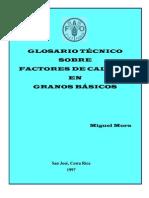 Granos Basicos - Glosario Tecnico