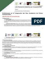 2 Documento Hacia Una Propuesta de Planeación Didáctica por Competencias