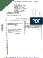 Generation Orange v. Radio Flyer and Target - Complaint