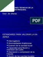 Est and Ares Para Valorar La via Aerea