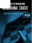 Excellence in Communicating Organizational Strategy