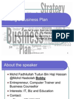 Business Plan Writing for Business Plan Series 20110624