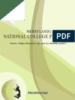 Brochure College
