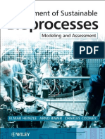 Development of Sustainable Bio Processes Modeling and Assessment