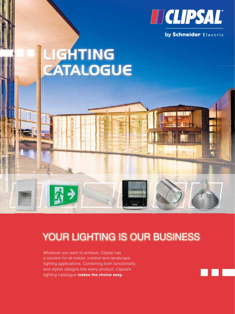 Clipsal Lighting Catalogue Compact Fluorescent Lamp Motion Sensors By Schneider Electric