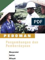 Pedoman an Dan Pemberdayaan Masyarakat Sekitar Wilayah Lokasi Tambang