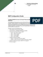 ProCurve SR BGP Config Guide 08 05