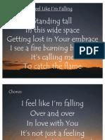 Feel Like I'm Falling
