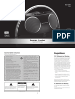 Harman-Kardon Owner's Manual - Go + Play II (English)