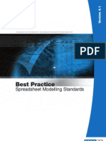 Best Practice Spreadsheet Modelling Standards v4.1