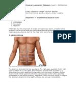 LI - Physical Examination - Abdomen