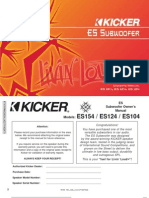 Kicker 2005 ES Sub